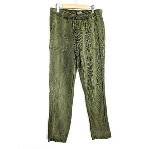 Lucky Brand Drawstring Lyocell Cropped Cargo Pant